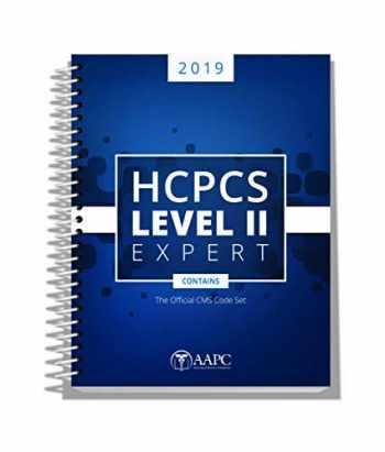 9781626886070-1626886075-HCPCS Expert Level II 2019 (AAPC)
