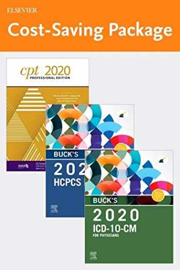9780323750332-0323750338-Buck's 2020 ICD-10-CM Physician Edition, 2020 HCPCS Professional Edition and AMA 2020 CPT Professional Edition Package