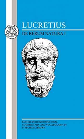 9780862920760-0862920760-Lucretius: De Rerum Natura I (Latin Texts) (Bk.1)