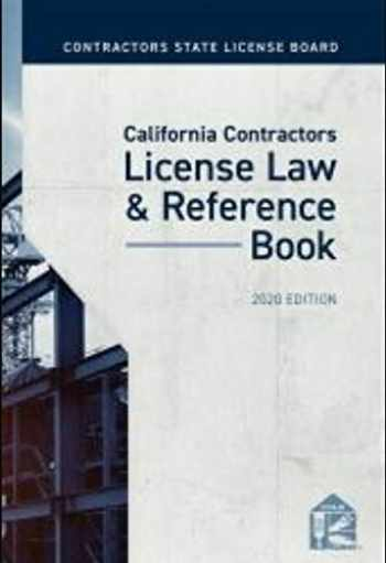 9781522191759-1522191755-California Contractors License Law & Reference Book