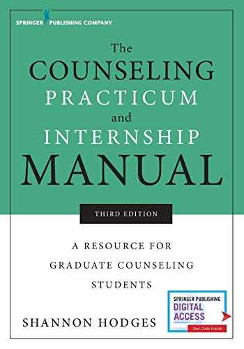 9780826143020-0826143024-The Counseling Practicum and Internship Manual, Third Edition: A Resource for Graduate Counseling Students
