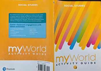 9780328973149-0328973149-MY WORLD ACTIVITY GUIDE GRADE 1 SOCIAL STUDIES