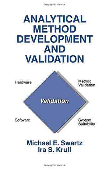 9780824701154-0824701151-Analytical Method Development and Validation