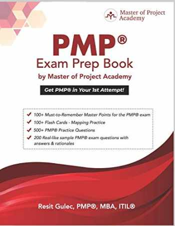 9780578570204-0578570203-PMP® Exam Prep Book by Master of Project Academy: Get PMP® in Your 1st Attempt!