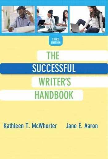 9780321972613-0321972619-The Successful Writer's Handbook (Mywritinglab)