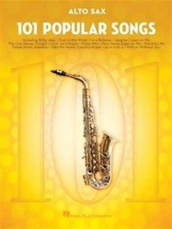 9781495090257-1495090256-101 Popular Songs: for Alto Sax (SAXOPHONE)