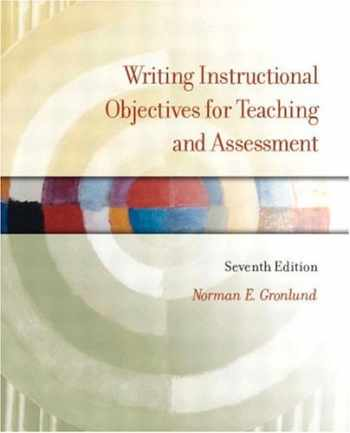 9780131117372-0131117378-Writing Instructional Objectives for Teaching and Assessment