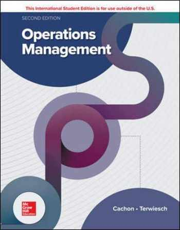 9781260547610-1260547612-Operations Management 2nd Edition, International Student Edition.