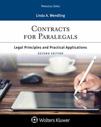 9781454869153-1454869151-Contracts for Paralegals: Legal Principles and Practical Applications for Paralegals (Aspen Paralegal Series)