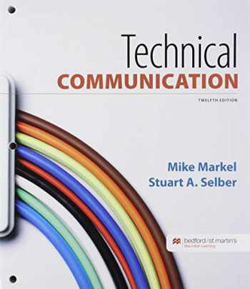 9781319354411-1319354416-Loose-Leaf Version for Technical Communication & Documenting Sources in APA Style: 2020 Update