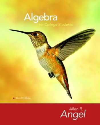 9780136129080-0136129080-Algebra for College Students (3rd Edition)