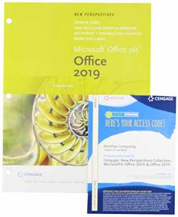 9780357260869-0357260864-Bundle: New Perspectives Microsoft Office 365 & Office 2019 Introductory, Loose-leaf Version + MindTap, 1 term Printed Access Card