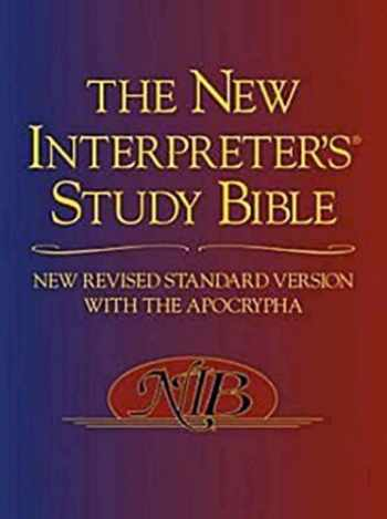 9780687278329-0687278325-The New Interpreter's Study Bible: New Revised Standard Version With the Apocrypha