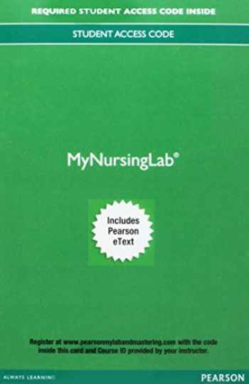9780134760933-013476093X-MyLab Nursing with Pearson eText -- Access Card -- for Effective Leadership and Management in Nursing