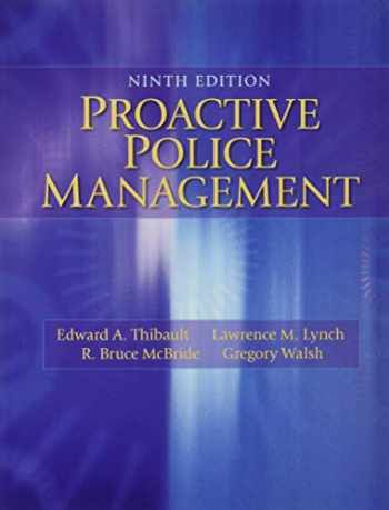 9780133598438-0133598438-Proactive Police Management