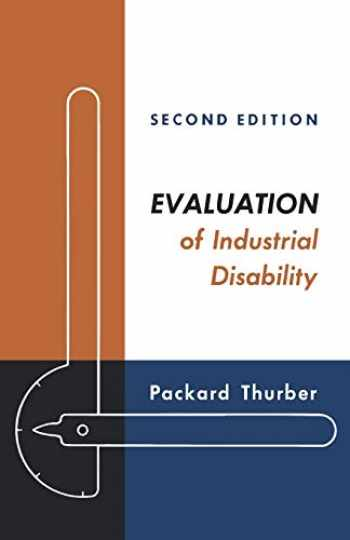 9780195011432-0195011430-Evaluation of Industrial Disability
