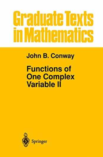 9781461269113-1461269113-Functions of One Complex Variable II (Graduate Texts in Mathematics (159))