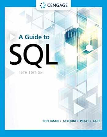 9780357361689-0357361687-A Guide to SQL (MindTap Course List)