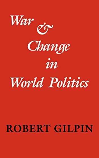 9780521240185-0521240182-War and Change in World Politics