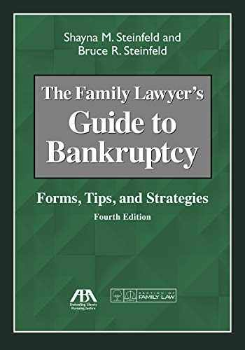 9781641052092-1641052090-The Family Lawyer's Guide to Bankruptcy: Forms, Tips, and Strategies