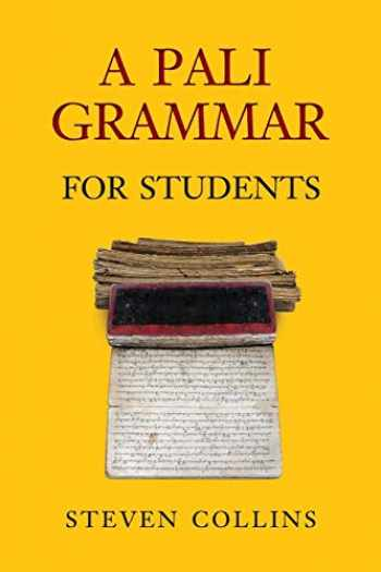 9789749511138-9749511131-Pali Grammar for Students