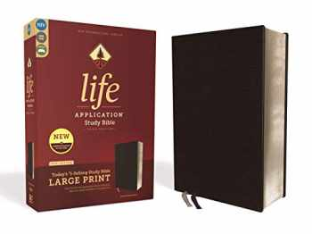 9780310452881-0310452880-NIV, Life Application Study Bible, Third Edition, Large Print, Bonded Leather, Black, Red Letter