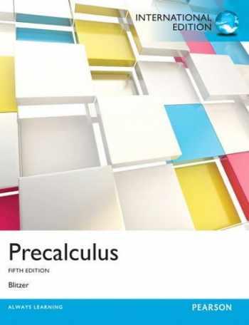 9780321851468-0321851463-Precalculus: International Edition