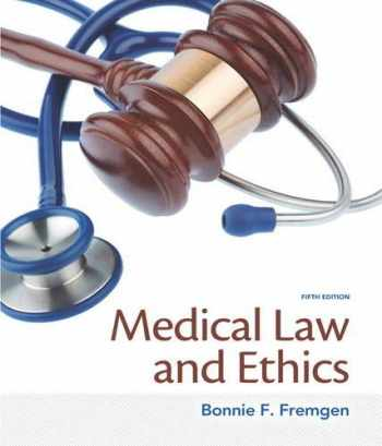 9780133998986-0133998983-Medical Law and Ethics (5th Edition)