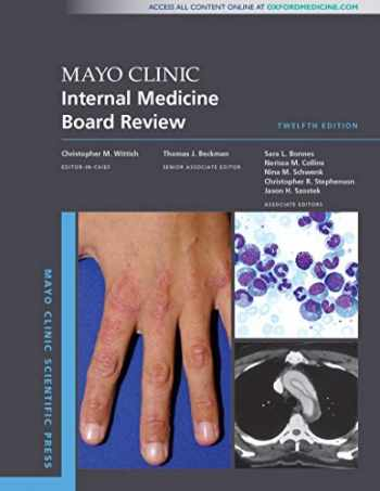 9780190938369-0190938366-Mayo Clinic Internal Medicine Board Review (Mayo Clinic Scientific Press)