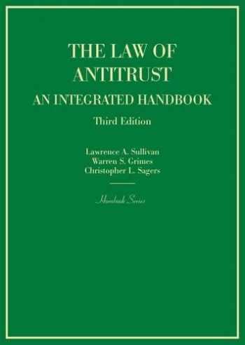 9780314290786-0314290788-The Law of Antitrust, An Integrated Handbook (Hornbooks)