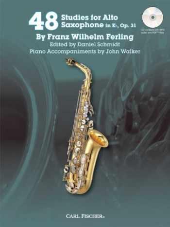 9780825873010-0825873010-48 Studies for Alto Saxophone in Eb, Op. 31 w/CD