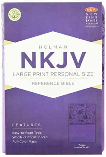 9781433604850-143360485X-NKJV Large Print Personal Size Reference Bible, Purple LeatherTouch