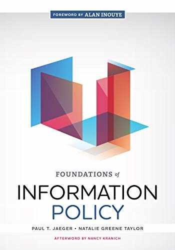 9780838918029-0838918026-Foundations of Information Policy