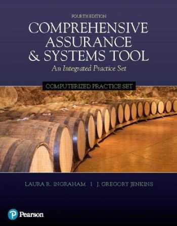 9780134790640-0134790642-Computerized Practice Set for Comprehensive Assurance & Systems Tool (CAST)