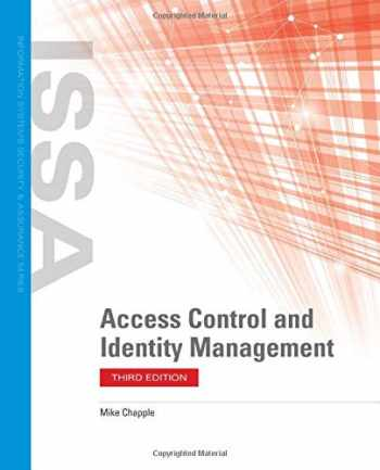 9781284198355-1284198359-Access Control and Identity Management (Information Systems Security & Assurance)