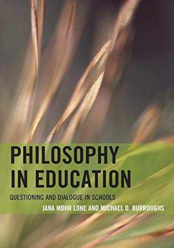 9781442234789-1442234784-Philosophy in Education