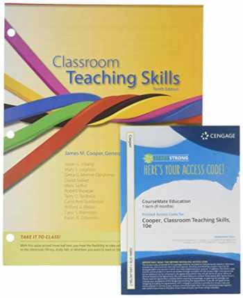9781285482972-1285482972-Bundle: Cengage Advantage Books: Classroom Teaching Skills, 10th + Education CourseMate with eBook Printed Access Card