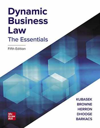 9781264076727-126407672X-Loose Leaf for Dynamic Business Law: The Essentials
