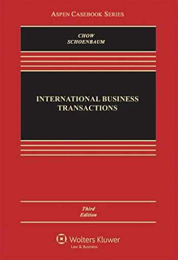 9781454849414-145484941X-International Business Transactions (Aspen Casebook)