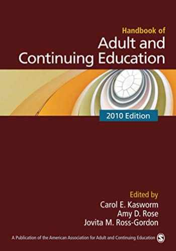 9781412960502-1412960509-Handbook of Adult and Continuing Education