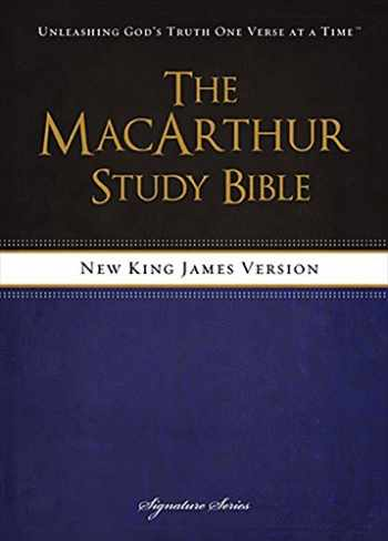 9781418550356-1418550353-NKJV, The MacArthur Study Bible, Hardcover: Revised and Updated Edition