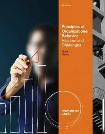9781111969707-1111969701-Principles of Organizational Behavior: Realities & Challenges, International Edition