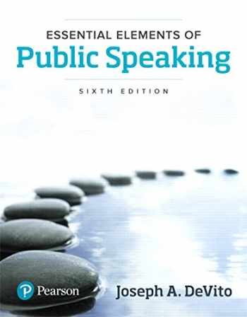 9780134402864-0134402863-Essential Elements of Public Speaking (6th Edition)