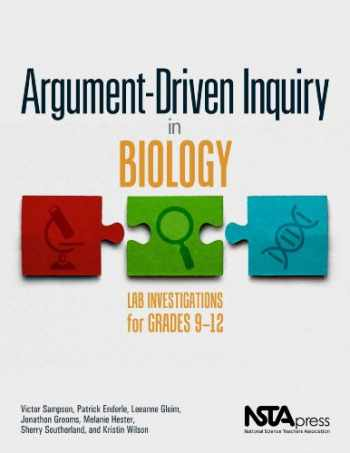 9781938946202-1938946200-Argument-Driven Inquiry in Biology: Lab Investigations for Grades 9-12 PB349X1