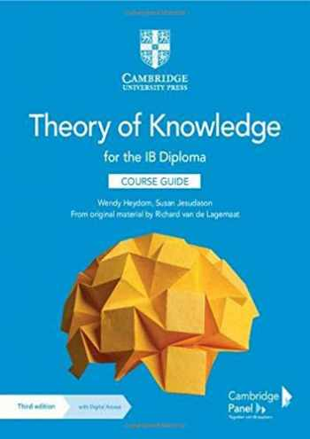 9781108865982-1108865984-Theory of Knowledge for the IB Diploma Course Guide with Digital Access (2 Years)