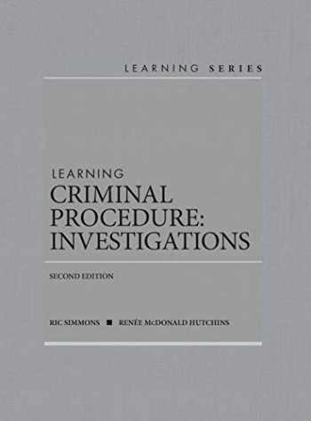 9781642424225-1642424226-Learning Criminal Procedure: Investigations (Learning Series)
