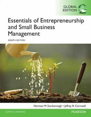 9781292094861-1292094869-Essentials of Entrepreneurship and Small Business Management, Global Edition