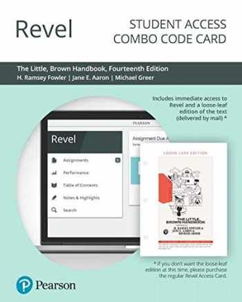 9780135232231-0135232236-Revel for The Little, Brown Handbook -- Combo Access Card