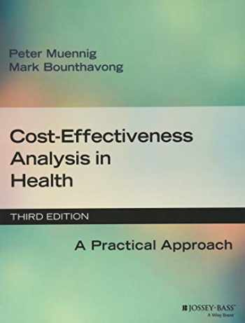 9781119011262-1119011264-Cost-Effectiveness Analysis in Health: A Practical Approach