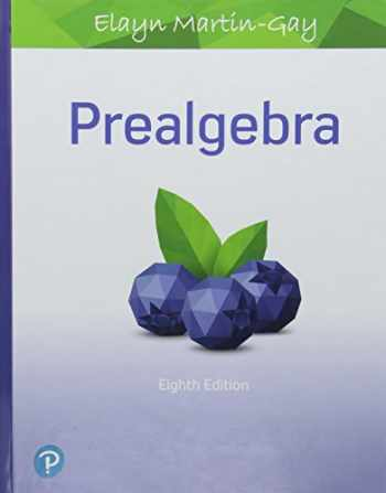 9780134708799-0134708792-Prealgebra (Hardcover) (8th Edition)